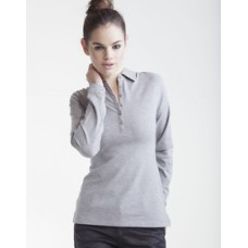 ST44M Ladies Long Sleeved Stretch Polo